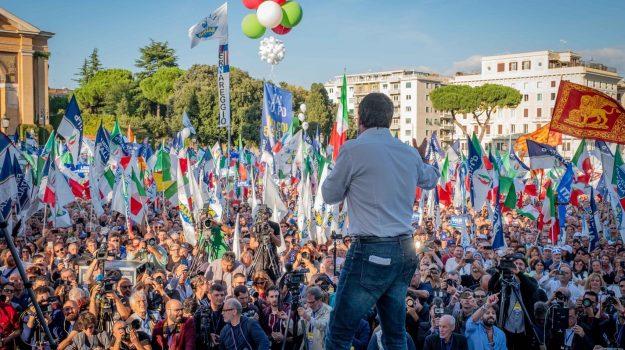 elezioni regionali calabria, Matteo Salvini, Calabria, Politica
