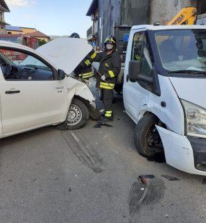 Serra S. Bruno, incidente vicino all'ospedale: tre persone ferite FOTO