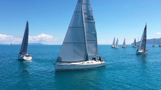 capo d'orlando, Round Aeolian Race, vela, Messina, Sport