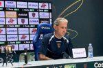 """Cosenza, Zaffaroni: """"Servono equilibrio e tempo. Turnover col Perugia? Prematuro"""""""