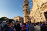Messina, tante lacrime per l'ultimo saluto a Roberto Spadaro e Antonio Russo