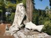 Messina, statue decapitate e lapidi spaccate nell'area delle tombe dei bambini