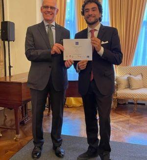Gianni Iacucci premiato