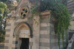 Cimitero monumentale di Messina: restaurato un cellario del '900