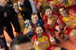 Esordio ok per la Tonno Callipo, Taranto espugnata 1-3