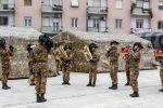 Omaggio al Milite ignoto, bersaglieri... di corsa applauditi dai cosentini FOTO