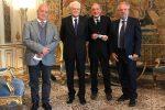 Il libro sui padri costituenti calabresi presentato al capo dello Stato Mattarella