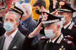"""Pizzo accoglie il generale Salsano: """"I cittadini si attendono il massimo da noi"""" FOTO"""