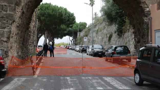 Messina, dopo il crollo dell'arco cinquecentesco di Cristo Re spariscono le transenne