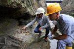 Sensazionale scoperta ad Ercolano: ritrovato lo scheletro dell'ultimo fuggiasco - FOTO