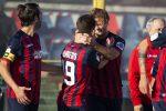 Il Cosenza scappa con Gori (rigore) ma il solito Novakovich salva il Frosinone: 1-1