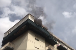 Cortocircuito ai contatori, a fuoco un appartamento: famiglia evacuata a Palermo VIDEO