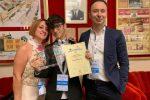 Sanremo Junior, il 13enne milazzese Davide Patti secondo nella gara mondiale L'ESIBIZIONE