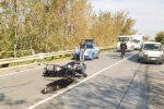 San Lucido, scontro auto-moto: centauro in ospedale con l'elisoccorso