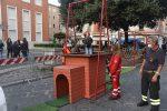 Crotone, piazza della Resistenza teatro del divertimento per i bambini FOTO