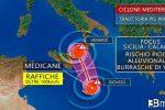 Ecco cos'è Medicane, ciclone del Mediterraneo con caratteristiche tropicali. IL VIDEO