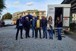 Vaccinazioni, piazza Cairoli accoglie i messinesi FOTO