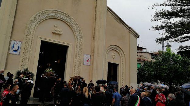 funerale comandante fragomeli, roccella ionica, alfredo fragomeli, Reggio, Cronaca