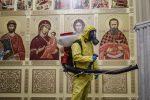 """Covid: in Russia 1.036 morti in 24 ore, nuovo record. Mosca entra in lockdown """"leggero"""""""