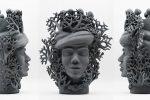 Da Monterosso la prima scultura tinta con la grafite riciclata