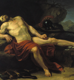 """""""Filottete morente"""". Vincenzo Baldacci, 1807, Pinacoteca Comunale di Cesena"""