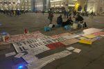 No Green pass: a Trieste continua il presidio in piazza Unità. Domani un nuovo corteo