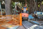 Messina: al via le demolizioni alla villa Mazzini