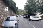 Scontro tra due auto sulla statale di Santo Saba: 5 feriti FOTO