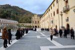 Paola, ceri votivi al Santuario e un sogno: l'arrivo a sorpresa del Papa