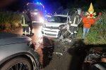 Pizzo, incidente sulla SS19 con tre auto coinvolte. Ferita una donna