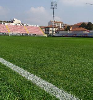 """Lo stadio """"Moccagatta"""" di Alessandria"""