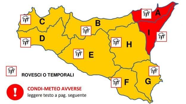 Maltempo: dopo i temporali notturni a Messina la situazione rimane sotto controllo