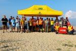 Volontari e associazioni ripuliscono una spiaggia del Vibonese FOTO
