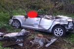 Palmi, vola giù con l'auto in un burrone per 50 metri: giovane muore sul colpo FOTO