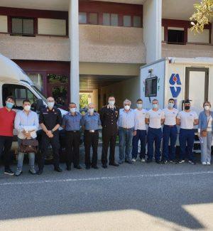 Reggio, gli allievi dei carabinieri partecipano alla campagna di donazione del sangue dell'AVIS