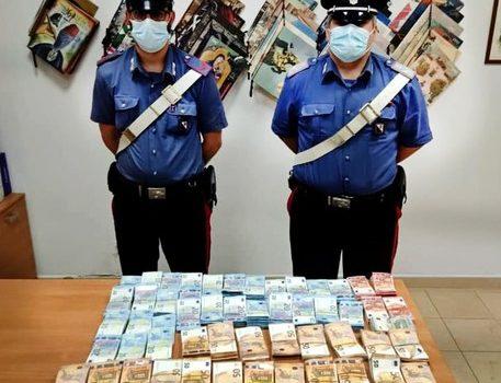 sequestro denaro, Reggio, Cronaca