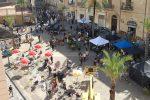 Riprese di Indiana Jones a Cefalù, piazza Duomo si trasforma in un set. Secondo giorno di riprese - FOTO