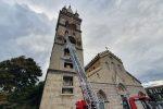 Crolli nella facciata al Duomo di Messina: ancora niente lavori