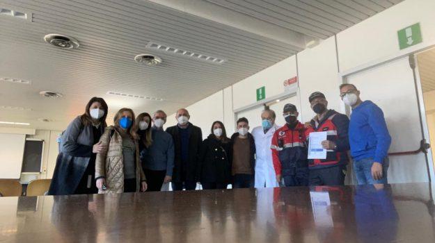 L'incontro nella sede del Centro sanitario dell'Unical con i vertici dell'Inrca