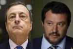 """Draghi incontra Salvini. Il leghista """"strilla"""" sulle tasse, ma nega uno strappo"""