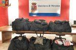 Oltre 100 kg di droga in abitazione a Messina, oggi l'interrogatorio dei due arrestati