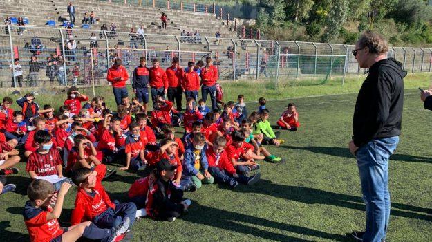 """Baresi è """"Libero di sognare"""": una giornata nel Messinese per lo storico capitano del Milan"""