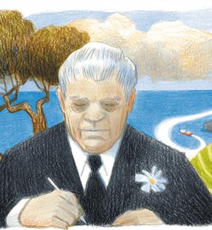 Eugenio Montale nel Doodle di Google
