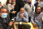 """A Falcone è festa per Nino Genovese: """"Abbiamo scalato una montagna, un sogno"""""""