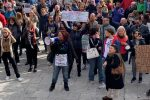 No Green pass a Messina, manifestazione a piazza Municipio - FOTO