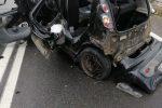 Cosenza, grave incidente stradale sulla 107 per la Sila: feriti due anziani