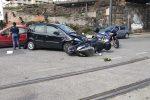 Messina, ennesimo incidente in via Bonino. Scooterista ferito, è in codice rosso