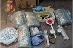Marijuana e pistola dentro casa, arrestato 54enne a Messina