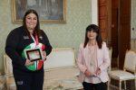 Messina, la judoka Carolina Costa ricevuta dal prefetto Cosima Di Stani