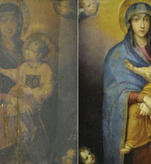 """Il restauro della """"Madonna col Bambino"""""""